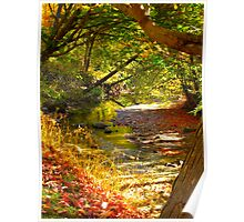 Austere Autumn Poster