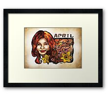 Brenda of April Framed Print