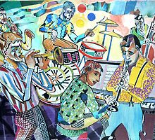 Swinging Saturday Night by Sally Sargent