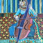 Egyptian Cellist by Sally Sargent