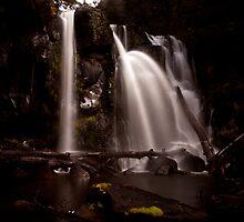 Hidden Creek Falls-The First Set by tinnieopener