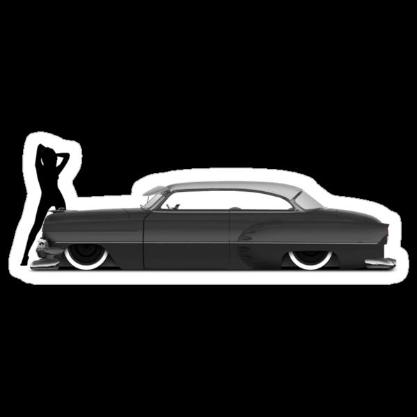 54 Chevy Kustom by TigerStriped