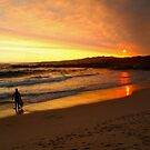 """Light's Beach Sunset"" Western Australia by wildimagenation"