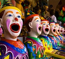 Carnival Clowns by gmpepprell