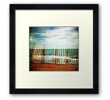 I do like to be beside the holga seaside Framed Print