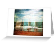 I do like to be beside the holga seaside Greeting Card