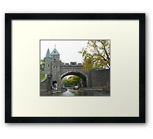 Looking through the underpass near the Citadelle Framed Print