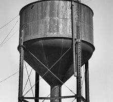 Water Tower, Bristow, Oklahoma by Crystal Clyburn