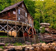 Glade Creek Mill from Below by Gregory Ballos | gregoryballosphoto.com