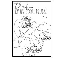 D is for Delusional Deluge of Dugongs Photographic Print