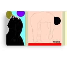bo peep and the three bears 2 Canvas Print