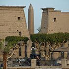 Luxor Temple by warriorprincess