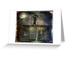 What Happens in Old Houses At Night? Greeting Card