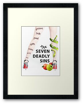 Seven Deadly Sins by Sarah Moore