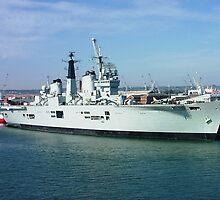 HMS Invincible (R05) by Paul Dean