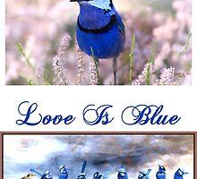 Love Is Blue by Wendy  Slee