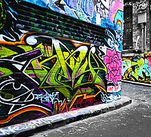 melbourne laneways by Anthony Hennessy