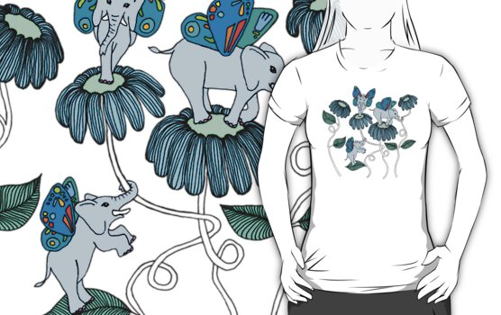 Look Out For Elephlies by micklyn