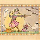 Happy Halloween! by Karen  Hallion