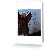 Crows Are Laughin' Greeting Card