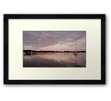 Peaceful Dawn - Baltimore Harbour, West Cork, Ireland Framed Print