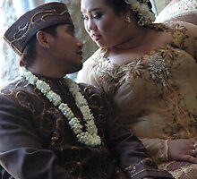 bride and groom by bayu harsa