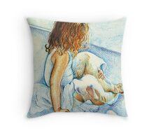 Ballerina Tane Throw Pillow