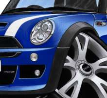 MINI [BMW] (Mk1) Cooper S Works Blue Sticker