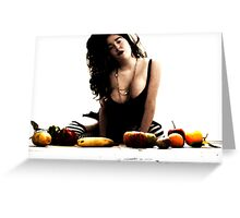The Riot Of Fruitful Things. Greeting Card