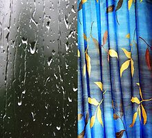 Rain at my window by Bluesrose