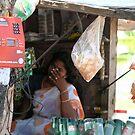 Rural telephone-Tamil Nadu state. India. by joshuatree2