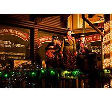 Christmas Sing-along Photographic Print