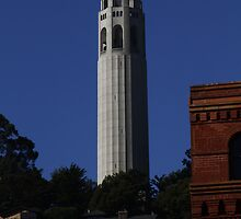 Coit Tower from the Embarcadero by fototaker