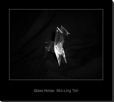 """Glass Horse"" by Mui-Ling Teh inspired by ""The Glass Menagerie"" by Tennessee Williams"