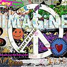 The Imagine wall by Jim Butera