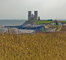 Reculver Towers by Pauline Tims