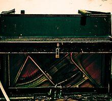 Church piano by farcaphoto