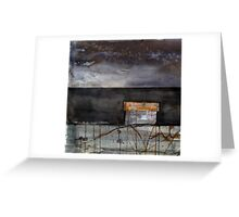 It`s already morning in Australia Greeting Card