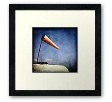 sound of wind Framed Print