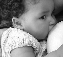 Baby Nursing by Moxie DePaulitte
