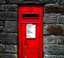 Georgian postbox, Clevedon, Somerset, UK by buttonpresser