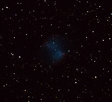 Dumbbell Planetary Nebula M27 by spacecadet2010