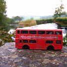 Little Red Bus - Living on the Edge by EmilyMead