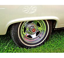 Mustang Wheel. Photographic Print