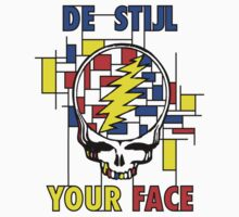 De Stijl Your Face (Girls T) by SheaClothing