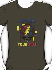 De Stijl Your Face (Girls T) T-Shirt