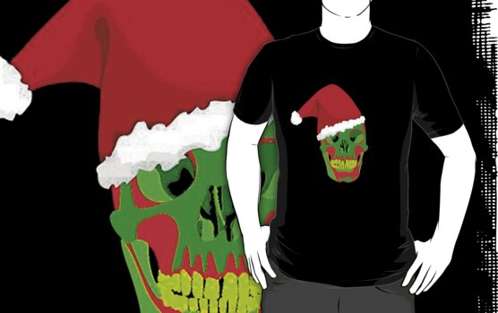 The Death Of Christmas - Santa's Skull by taiche