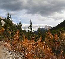Autumnal mountains by zumi