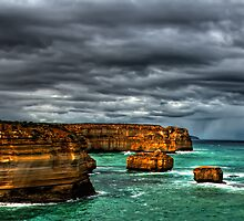 Twelve Apostles HDR, Australia  by peterperfect