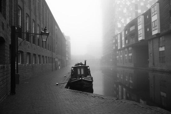 Birmingham Canal in Winter by Tim Cornbill